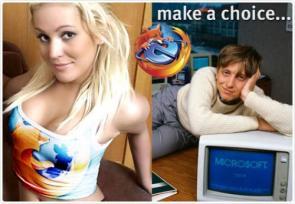 Firefox v. IE