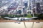 b-2 over st.Louis