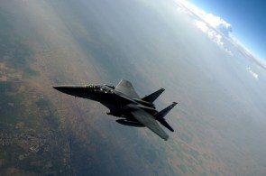 high-flying f-15