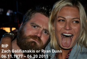 Too Soon? Ryan Dunn Done