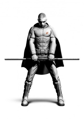 Robin in Batman: Arkham City