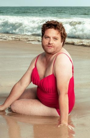 Zach Galifianakis' Swimsuit Calendar in Vanity Fair
