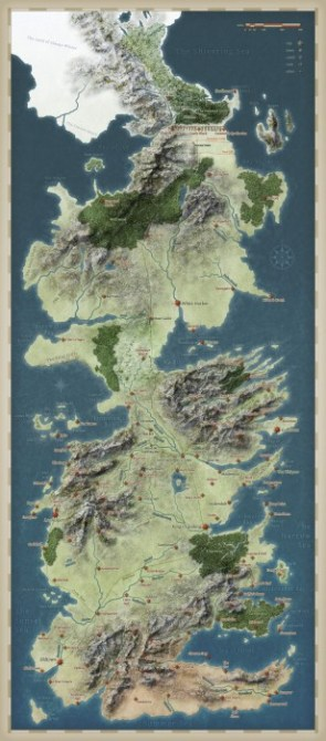 Maps of Westeros