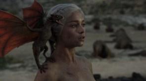 Daenerys & dragon