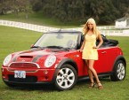 blonde car model