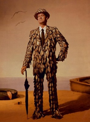 John Cleese fish suit