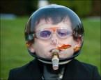 Human fishbowl