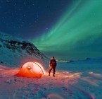 Aurora borealis camp-out