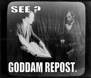 GODDAMM REPOST