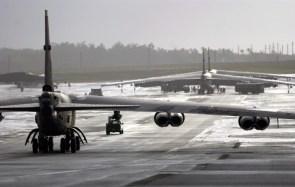 B-52s on runway