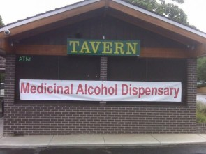 alcohol dispensary
