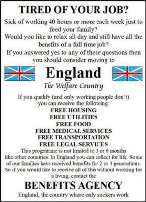 England – The Welfare Country