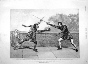 Sword And Dagger Duel
