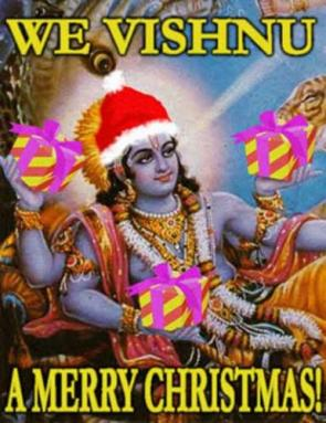 We Vishnu A Merry Christmas!