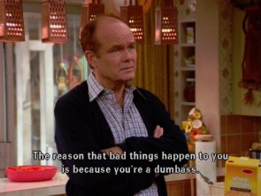 The wise Red Foreman