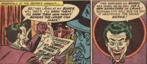 Never laugh at the Joker's boner