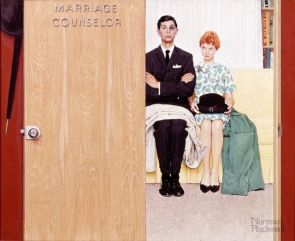 Norman Rockwell's 'Marriage Counselor'