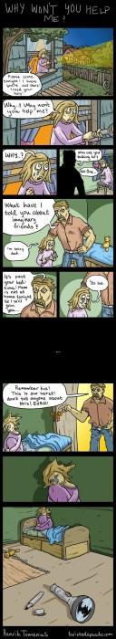 A rather depressing comic.