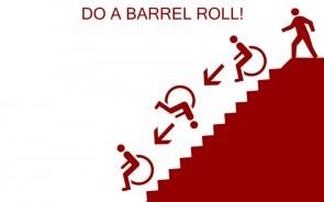 doing a barrel roll