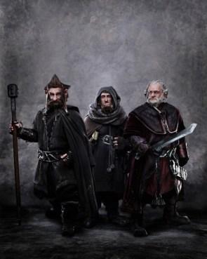 The Hobbit – Dori, Nori, Ori, Gloin, Oin, Kili, Fili, Bombur, Bofur, Bifur, Balin, Dwalin and Thorin
