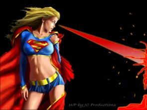 super girls heat vision