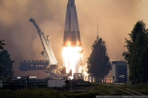 soyuz take off
