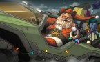 santa plays halo