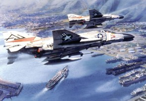 phantoms over harbor