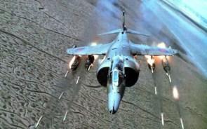 firing rockets
