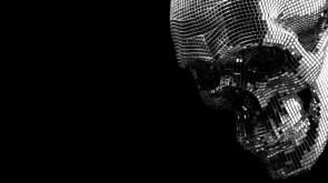 Disco Skull wall