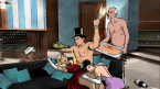 archer knows how to party