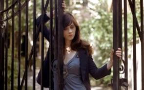 fenced girl