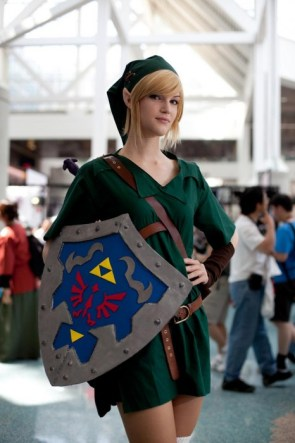 Sexy Link Cosplay