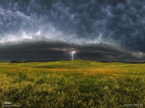 Lightning Storm on the South Dakota Plains