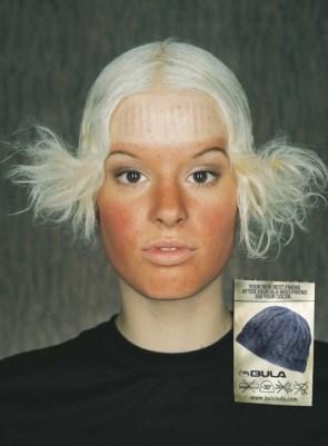 Snowboarding hats advertisement