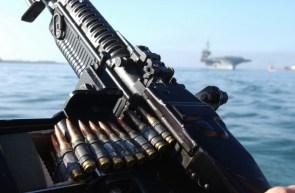 navy machine gun