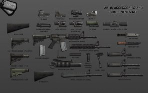 gun lay out
