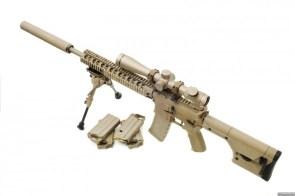 brown sniper gun