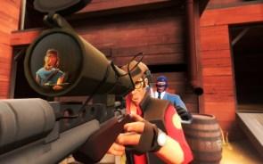 sniper vs. spy