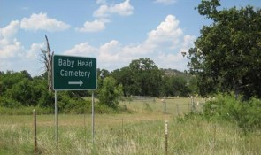 baby head cemetary meat