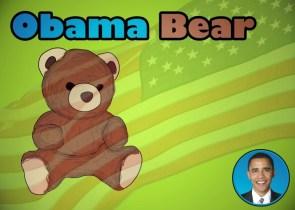 obama bear
