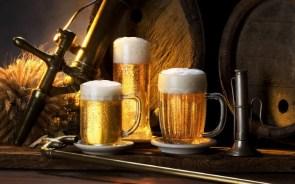 yellow beer