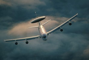 flying awacs