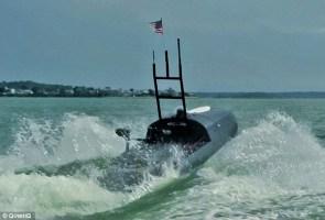 US Navy Robot Jet Ski
