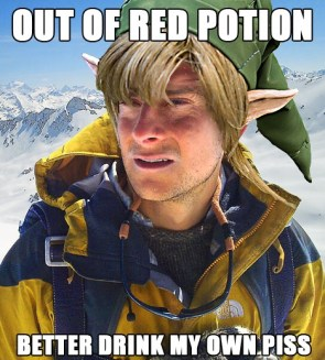 Out Of Red Potion