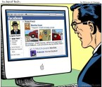 Superman's Facebook