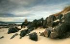 Hosta, Scotland beach wallpaper