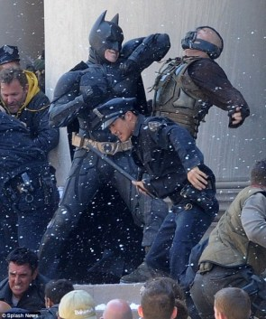 Batman Dark Knight Rises Sneak Peak