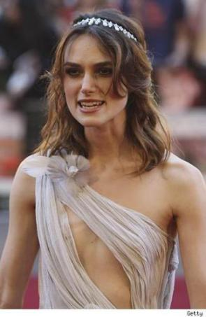 keira knightly, not so hot