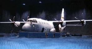 C-130 In Anechoic Chamber